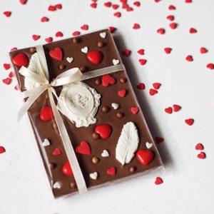 Молочный бельгийский шоколад