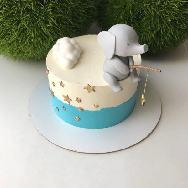"""Детский бисквитный торт """"соблазн"""""""